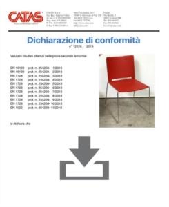 Certificato CATAS EN 1728 Multi