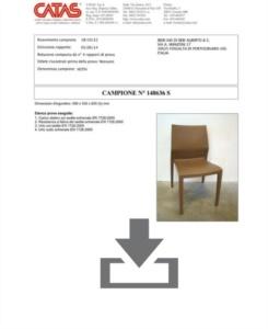 Certificato CATAS EN 1728 Hoth