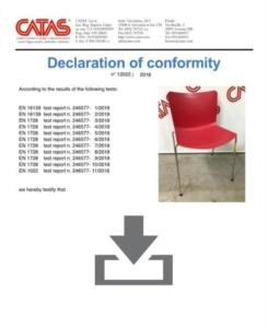 Certificati Collezione Zaza - CATAS EN 1728
