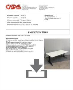 Certificato Telemaco B - CATAS EN 1730