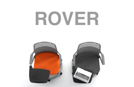 Sedia mobile per scuola e meeting Rover