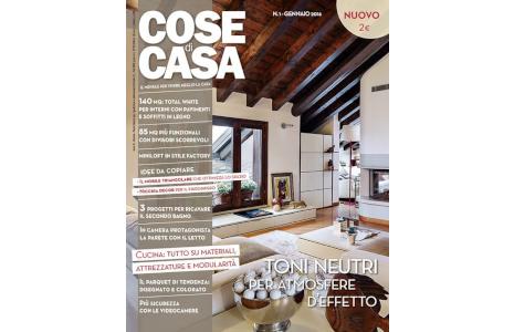 Magazine italiano di arredamento Cose di Casa