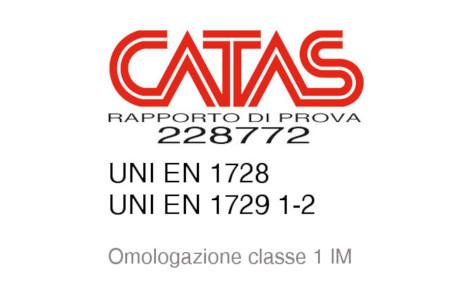 Certificati CATAS per la sedia Rover