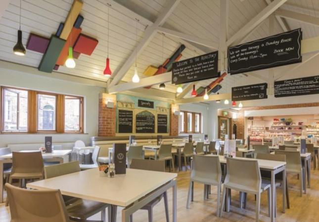 Sedia Hoth in un ristorante in Inghilterra