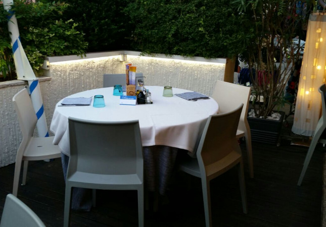 Hoth in un ristorante a Caorle