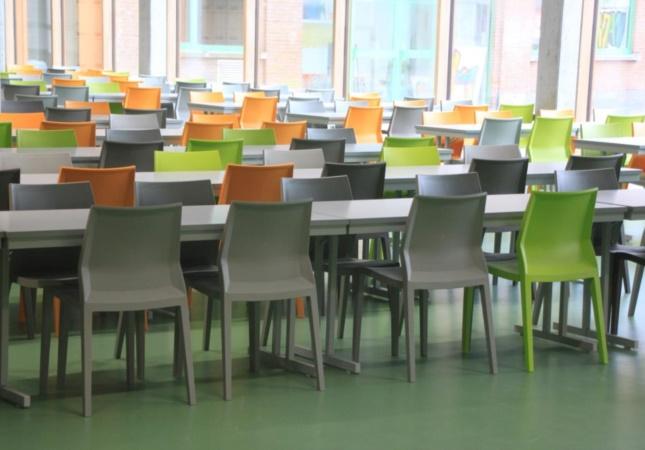 Hoth in una mensa scolastica in Belgio